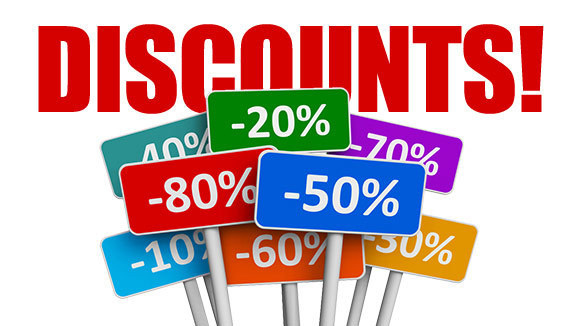 Discounts Image 1